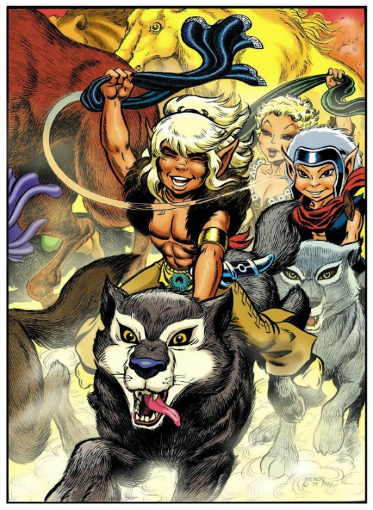 From ElfQuest: Fire and Flight by Wendy and Richard Pini